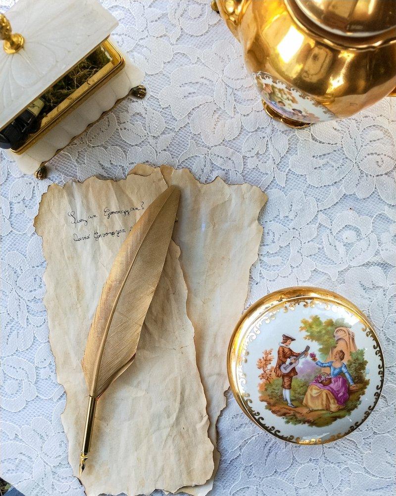 Scénographie et design floral romantique anniversaire fille