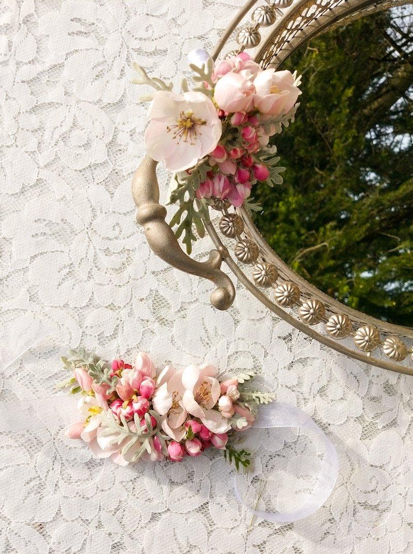 Design floral romantique anniversaire fille