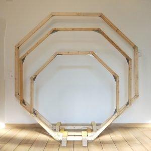 Arche hexagonale - décoration